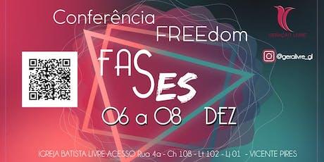 Conferência FREEdom 2019 ingressos