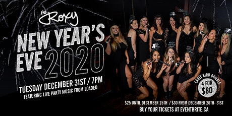 New Year's Eve at The Roxy tickets