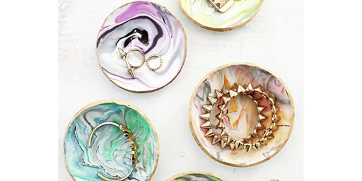 Brunch Artisans: Marbled Clay & Mimosas