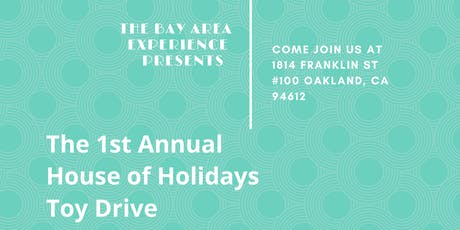 The  House of Holidays Toy Drive tickets