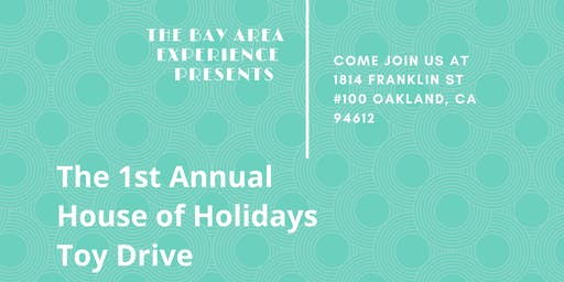 The  House of Holidays Toy Drive