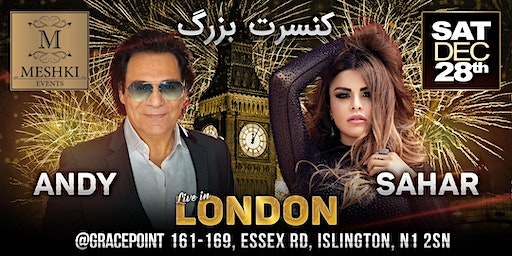 Andy & Sahar Concert, Live in London