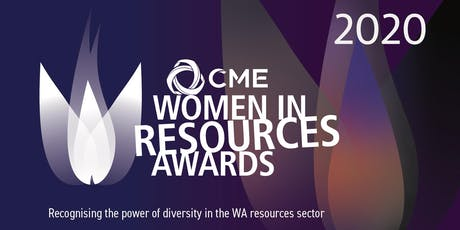 2020 CME Women in Resources Awards Presentation Dinner tickets