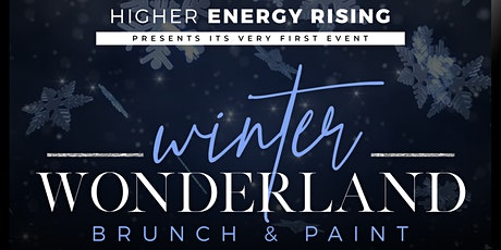 Winter wonderland brunch and paint tickets