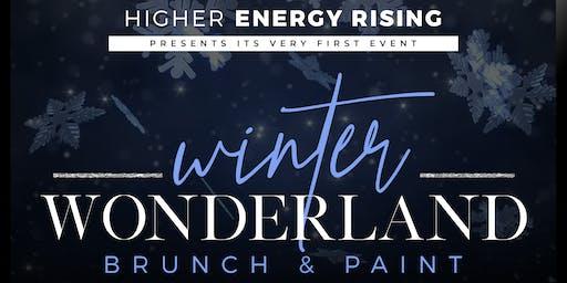 Winter wonderland brunch and paint
