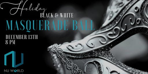Holiday Black & White Masquerade Ball