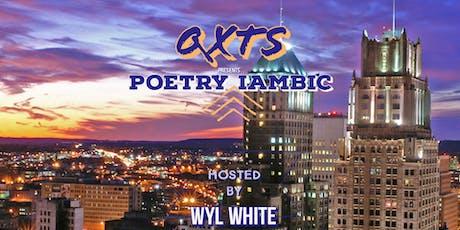 QXT's Open Mic Presents: Poetry Iambic tickets