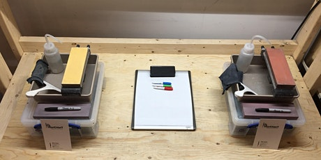 Atelier d'aiguisage de couteau (français) billets