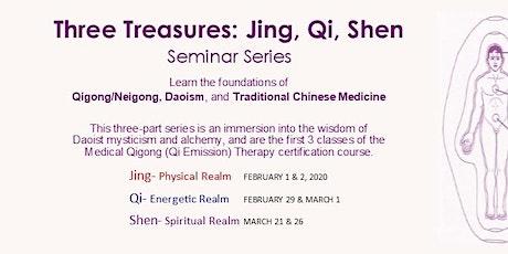 Three Treasures Seminar Series, Qigong Energetics tickets