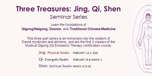 Three Treasures Seminar Series, Qigong Energetics