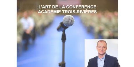 S'exprimer pleinement en public! Cours gratuit Trois-Rivières mardi 7 janvier billets