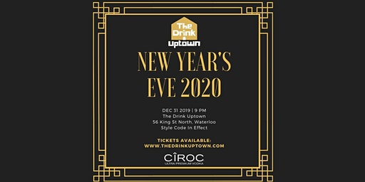 NYE 2020 At The Drink Uptown