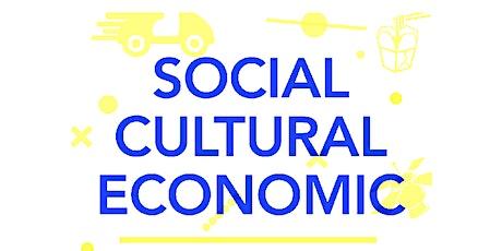 Social Cultural Economic X Design tickets