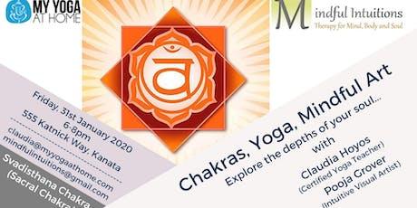 Chakra, Yoga, Mindful Art Workshop 2 tickets