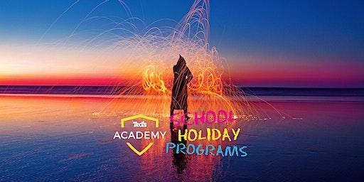 Light Painting I School Holiday Program (12 - 18yrs) I Melbourne