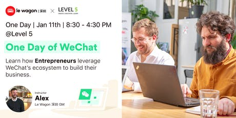 One Day of WeChat: How Entrepreneurs Leverage WeChat to Build their Business tickets