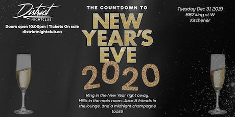 NYE 2020 at District Nightclub tickets