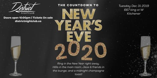 NYE 2020 at District Nightclub