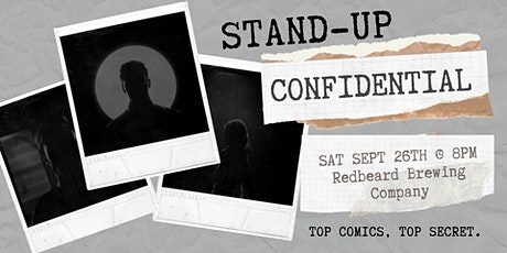 Stand-Up Confidential at Redbeard Brewing Company tickets