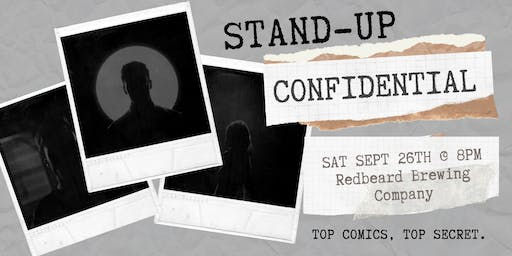 Stand-Up Confidential at Redbeard Brewing Company