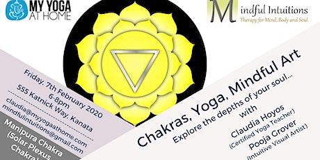 Chakras, Yoga, Mindful Art Workshop 3 tickets
