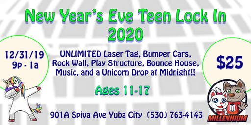 Teen New Year Party!