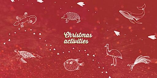 Foam snowman -  Christmas Activity - Bundaberg Library