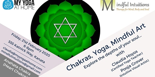 Chakras, Yoga, Mindful Art Workshop 4