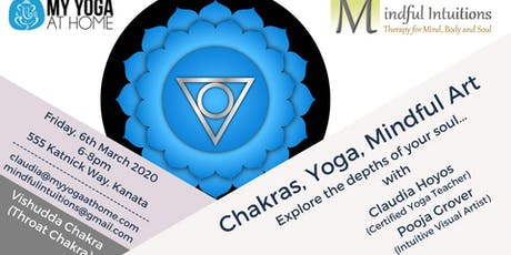 Chakras, Yoga, Mindful Art Workshop 5 tickets