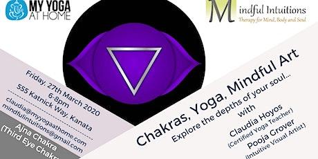 Chakras, Yoga, Mindful Art Workshop 6 tickets