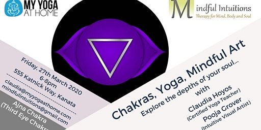 Chakras, Yoga, Mindful Art Workshop 6