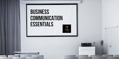 Business Communication Essentials tickets