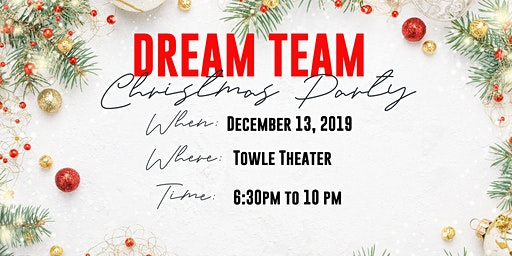 Dream Team Christmas Party