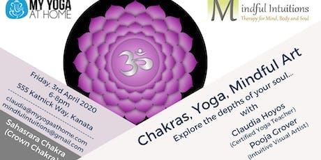 Chakras, Yoga, Mindful Art Workshop 7 tickets