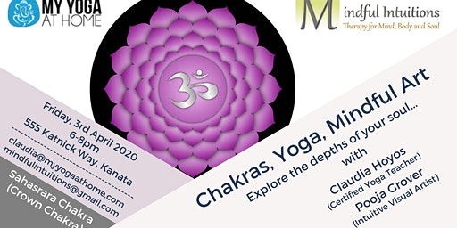 Chakras, Yoga, Mindful Art Workshop 7