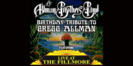 Allman Brothers Band B-Day Trib. to Gregg Allman feat Live at The Fillmoore tickets