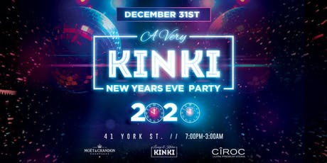 OTTAWA NEW YEARS EVE PARTY @ KINKI LOUNGE & KITCHEN tickets