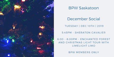 BPW Saskatoon December Social tickets
