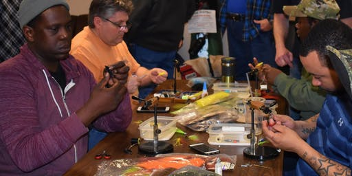 Midweek Lyons VA Fly Tying Clinic - Tuesday, December 17th 2019