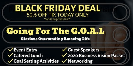 Black Friday DEAL~ Going For The GOAL! tickets