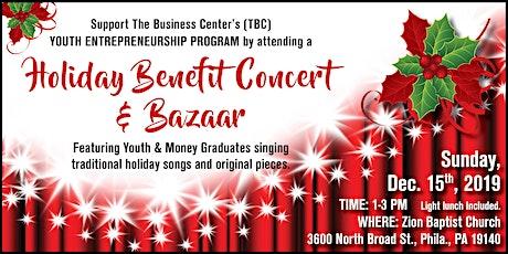 Holiday Benefit Concert and Bazaar tickets