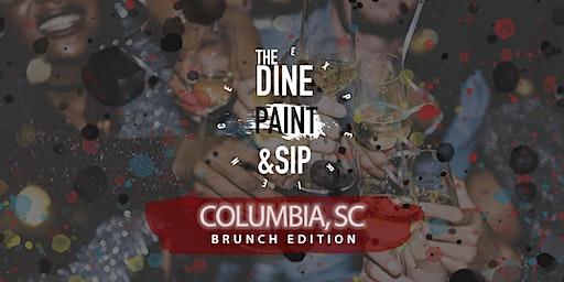 THE DINE PAINT & SIP -  BRUNCH (Columbia)