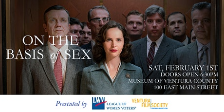 On the Basis of Sex Presented by League of Women Voters & VFS tickets