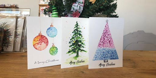Christmas Watercolour Card Workshop by Funda