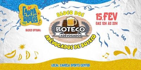 Bloco dos Adêvogados de Boteco - CARNA BLOCOS  ingressos