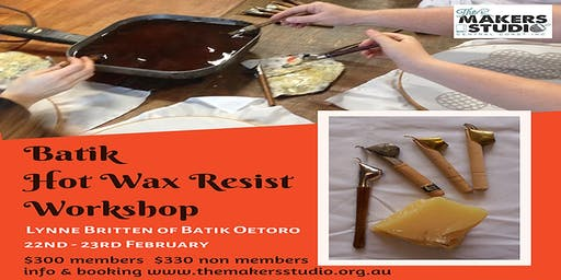 Batik - Hot Wax Resist Workshop