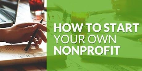 How to Start a Non-Profit Organization Workshop tickets