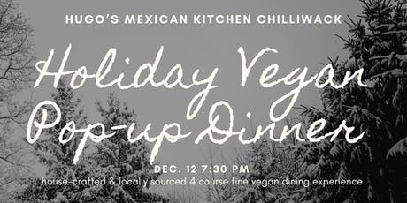 Holiday Vegan Pop-up Dinner tickets