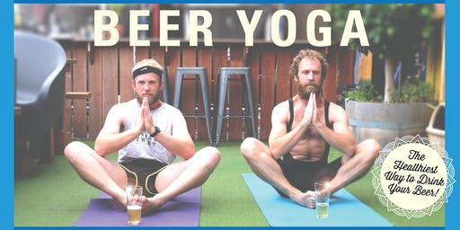 BEER YOGA in Ocean Grove