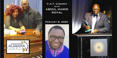 "CAT CABARET 2020 with Broadway Music Man  ""Abdul Hamid Royal""!"